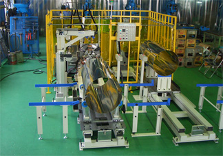 TIG溶接ロボットシステム