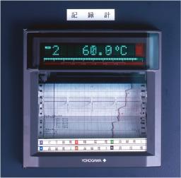 6点式自動記録計 (CT1・棚1・品温3・真空度1)